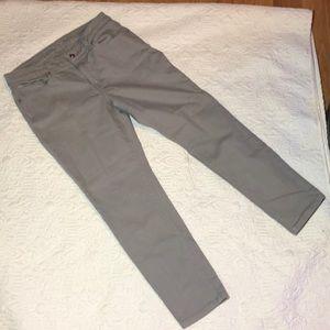 Gray Michael Kors Skinny Ankle Jeans
